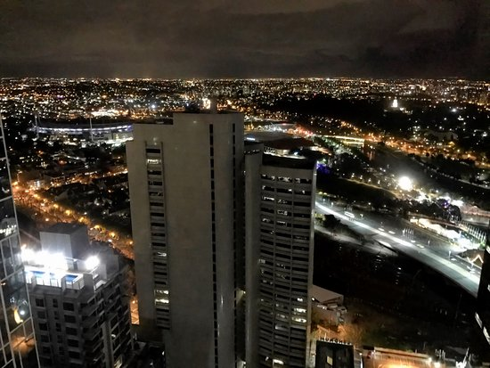 Melbourne from No 35, 25 Collins Street (iPhone capture)