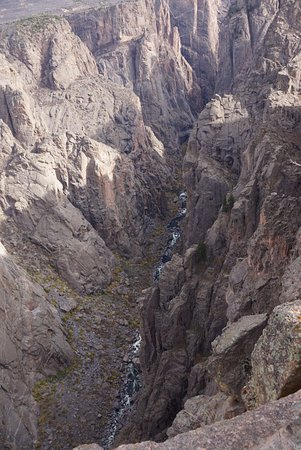Black Canyon Of The Gunnison National Park, CO: Volcanic eruptions helped form the canyon, sprinkling it with sparkling quartz, mica and feldspa