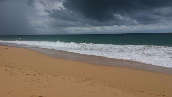 Pueblo de Bocas, Panamá: Bluff Beach!! Isla Colon