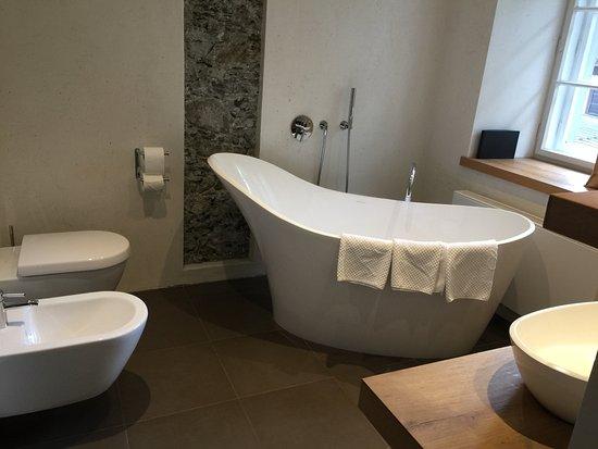 Strassen, Austria: Badezimmer der Kollreider Suite