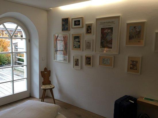 Strassen, Austria: 2. Zimmer der Kollreider Suite mit Zugang zur eigenen Terasse