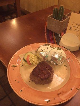 Schwabach, Alemania: Die besten Steaks was wir gegessen haben auf den Punkt gebraten ein Traum