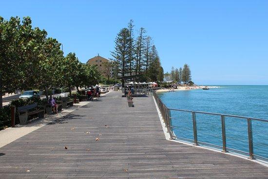 Caloundra, Australie : Part of the boardwalk