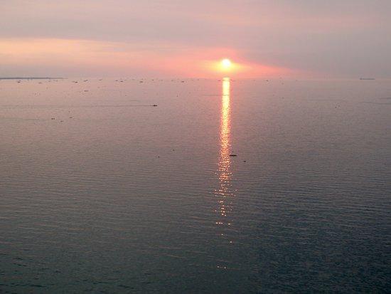 Iriga City, Filipinas: sunset