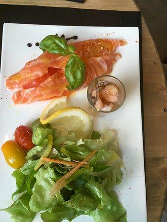 Boulbon, Frankrig: Restaurant L'Oranger