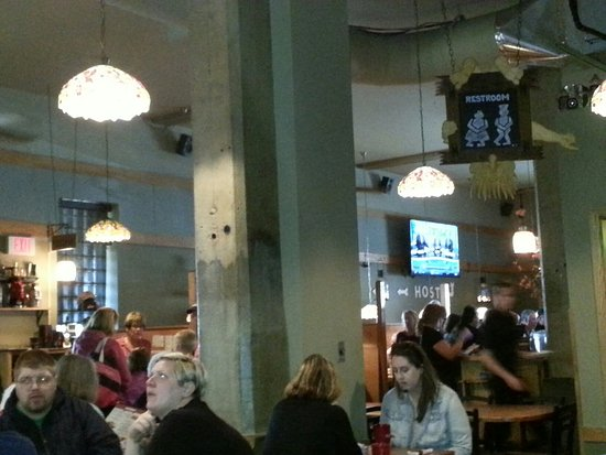 Mount Horeb, WI: Inside of the Grumpy Troll Pub