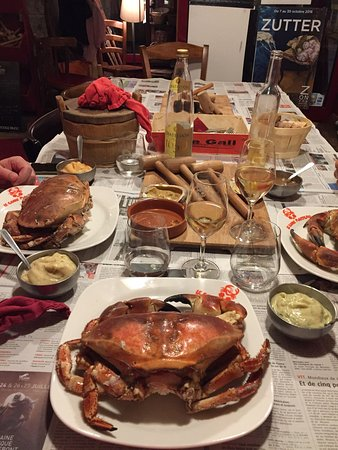 imag1059 picture of le crabe marteau brest tripadvisor. Black Bedroom Furniture Sets. Home Design Ideas