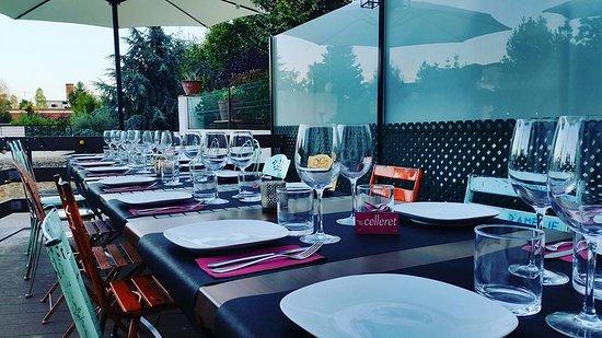 Premia de Dalt, Spanje: Sopars en grup