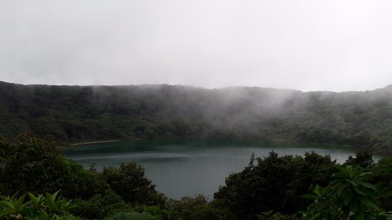 Poas Volcano National Park, كوستاريكا: laguna