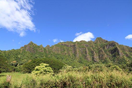 Kaneohe, HI: les montagne du Kualoa Ranch