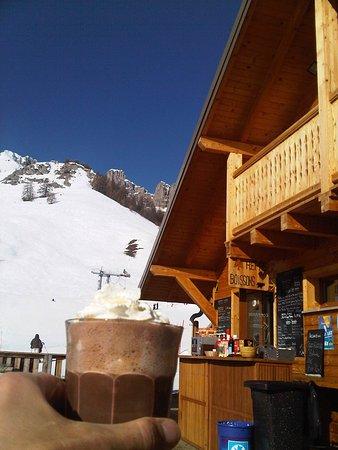 Reallon, Frankrike: Le super chocolat chaud du bacchus !