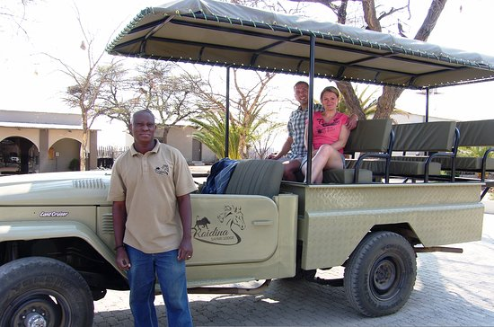 Omaruru, Namibia: Field guide with game vehicle and guests