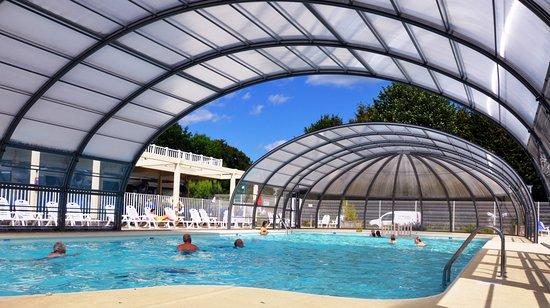 camping le walric piscine couverte chauffe