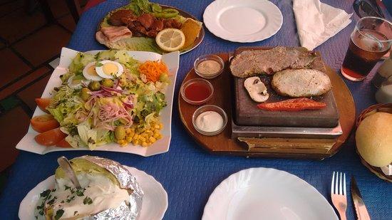 Salobreña, España: Almuerzo para dos
