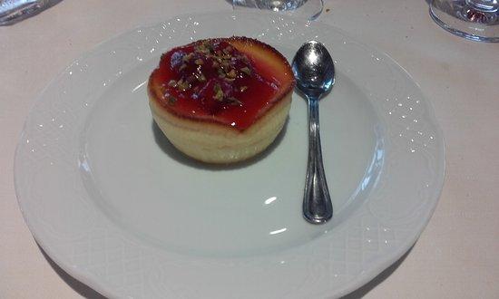 Tolfa, Italien: Cheesecake alle fragole