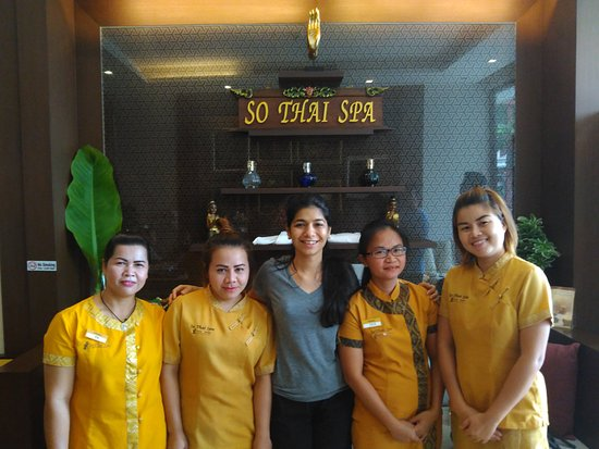 So Thai Spa Phuket : The ladies who gave us the 4 hands massages