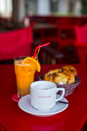 Gustavia, سانت بارتيليمي: Breakfast
