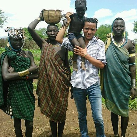 Murci Tribes one of the tribes in the Southern Omo Zone