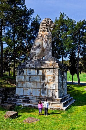 Central Macedonia, Greece: Lion of Amphipolis