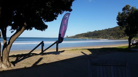 Lorne, Australia: Local Beach only 50 Metres from Hotel