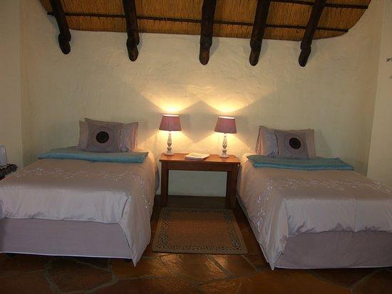 Omaruru, Namibia: Room 2 Separate beds