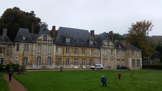 Duclair, Francia: Rather dull day