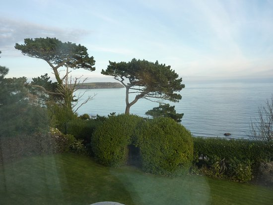 Trewithian, UK: View from our sea facing windows.