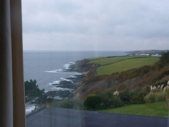 Trewithian, UK: View from our coastline facing window.