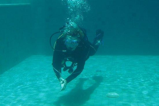 Padangbai, إندونيسيا: V tréningovom bazéne 1