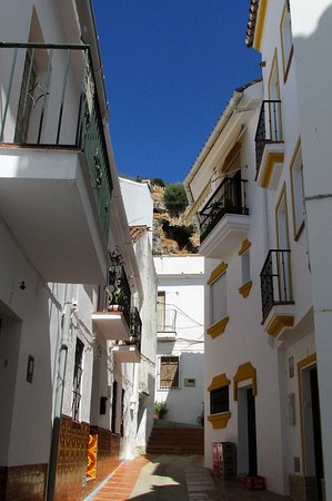 Ojen, Spanien: Calle (rue) Rey