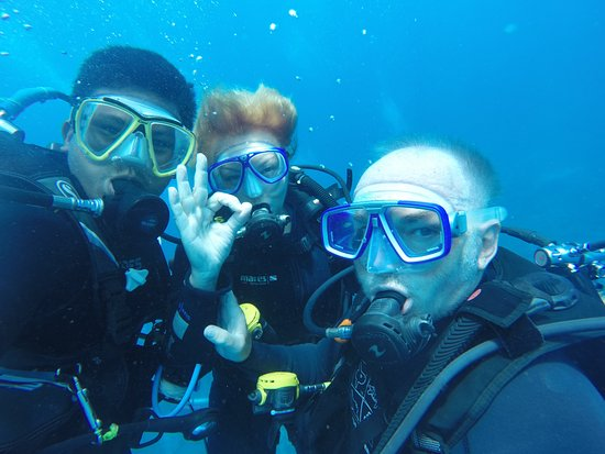 Padangbai, إندونيسيا: A už naostro v oceáne :-)