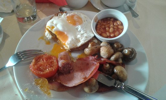 The Godstone Hotel: Cooked Breakfast. Extra 7.50 gbp