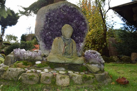 Newark-on-Trent, UK: one of many buddas to be found here