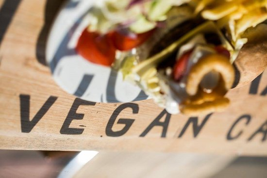 Brighton and Hove, UK: Green Kitchen, vegan cafe, Brighton