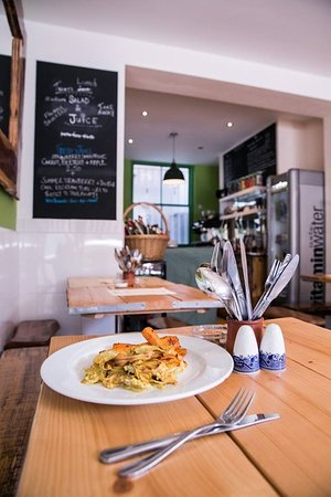 Brighton and Hove, UK: Green Kitchen, vegan cafe, Brighton