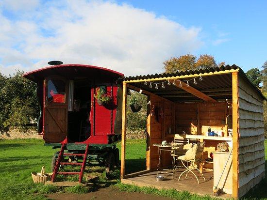 Armathwaite, UK: Gypsy caravan