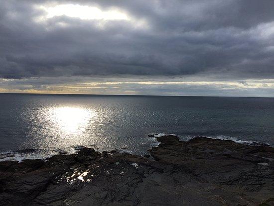 Fethard On Sea, Irland: Ook met bewolkt weer een prachtige plek!