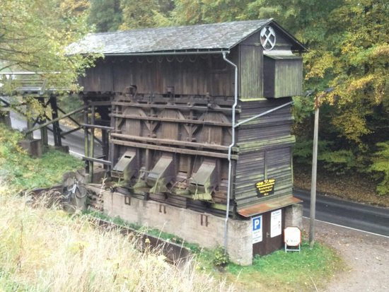 Trusetal, Γερμανία: Besucherbergwerk Huhn
