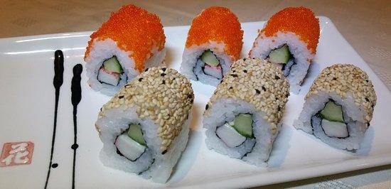Κρου, UK: sushi