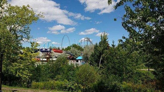 Canada's Wonderland: More rides from a distance