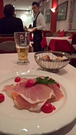 Renningen, Alemania: Parmaschinken mit Melone