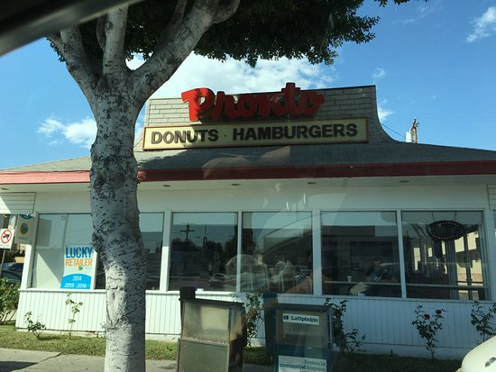 Monterey Park, CA: Outlook of Pronto Donuts