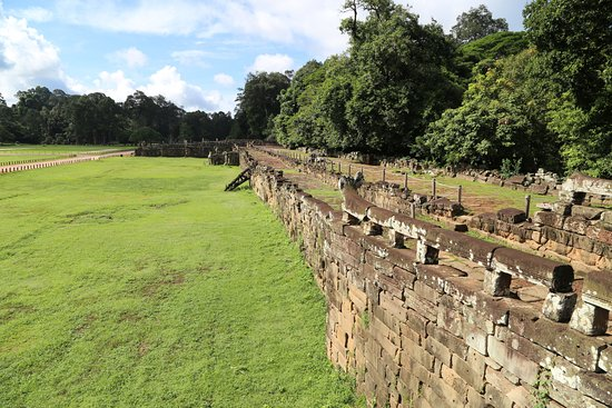 Angkor Archaeological Park: Терраса Слонов