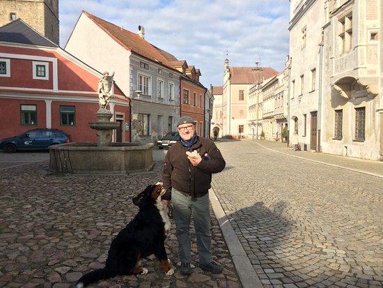 Slavonice, Česká republika: walking the streets....