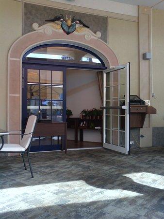Stadtgasthaus Eisvogel: ingresso