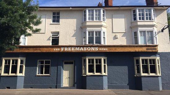 Market Harborough, UK: The Freemasons Arms