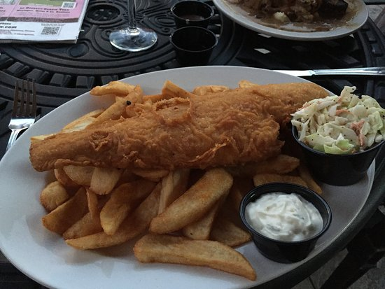 Scottsville, Вирджиния: fish and chips the only thing good