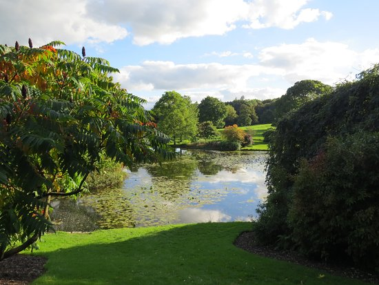 Kendal, UK: Gardens and Lake