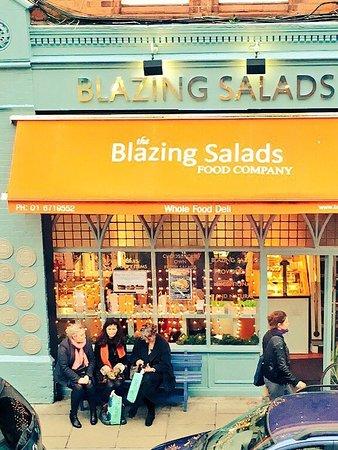 Photo of Modern European Restaurant Blazing Salads Food Co. at 42 Drury Street, Dublin, Ireland
