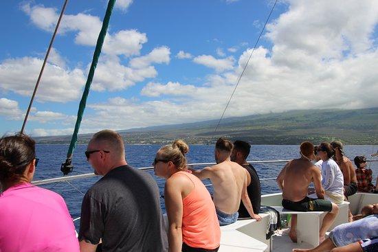 Wailuku, Havai: Sail back from Molokini Crater